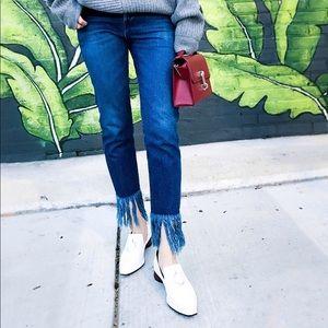 3X1 Fray Denim Jeans